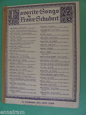 Franz Schubert Hark Hark the Lark 1902 German / English Medium Voice in B flat