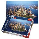 Trefl 1000 Piece Adult Large Aerial New York Manhattan View Floor Jigsaw Puzzle