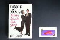 💎RONNIE AND NANCY A VERY SPECIAL LOVE STORY 1985 HARDCOVER BILL ADLER💎