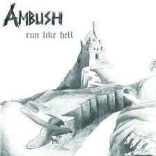 AMBUSH - Run Like Hell (NEW*80's HARD ROCK*SWE*TAROT*P.ALTAR*RAINBOW*HEAVY LOAD)
