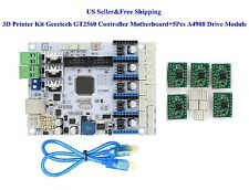 Geeetech 3D Printer Kit GT2560 Controller Motherboard+5Pcs A4988 Drive Module US