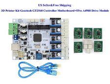 Geeetech 3D Printer Kit GT2560 Controller Motherboard+5Pcs A4988 Drive Module US