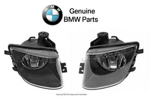 For BMW F01 F02 750i Alpina B7 Pair Set of Front Right & Left Fog Lights Genuine