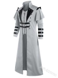 Men's Jacket Cosplay Costume Medieval Renaissance Costume 2021