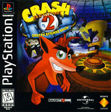 Playstation One Ps1 Crash Bandicoot 2 Box Cover Photo Wall Poster Decor
