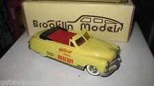 BROOKLIN MODELS 1.43 1950 MERCURY CONVERTIBLE INDIANAPOLIS PACE CAR BRK 15x