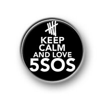 "KEEP CALM 5SOS / 1"" / 25mm pin button / badge / band / 5 Seconds of Summer / Aus"