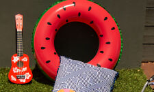Watermelon Swim Ring Summer Pool Floats Lounge Toy Fun Beach Inflatable