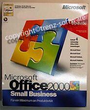 Microsoft Office 2000 Small Business ( SBE ) deutsch- Boxversion CD, keine OEM