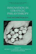 Innovation in Strategic Philanthropy: Local and Global Perspectives (Nonprofit