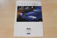 75703) Ford Galaxy Sport Prospekt 12/1997