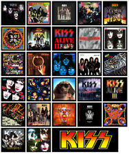 KISS multi pack of 27 album cover refrigerator magnet set lot (full discography)