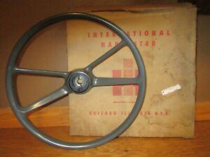 "19"" Steering Wheel 1960's International Harvester Truck Scout Travelall 266249C1"