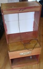 wooden display case (no glass)