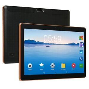10.1 Zoll Tablet PC Android 9.0 Octa 4+64GB WIFI Dual SIM Kamera Phablet Schwarz