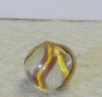 #12644m Tiny Peewee .43 Inches German Handmade Latticino Swirl Marble