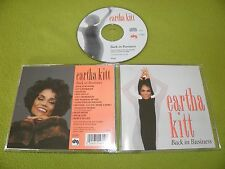 Eartha Kitt - Back In Business RARE 1994 IMPORT Out Of Print CD / Soul Jazz R&B