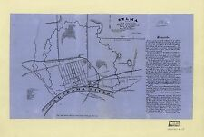 12x18 inch Reprint of American Military Map Selma Alabama