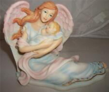 Nemesis Now Willow Hall ANAHITA ANGEL WITH SLEEPING BABY SCULPTURE Faerie  Angel