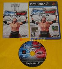 WWE SMACKDOWN VS RAW 2007 Ps2 Versione Italiana 1ª Ediz Smack Down »»»» COMPLETO