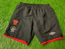 RANGERS SCOTLAND 2010/2011 FOOTBALL SOCCER SHORTS THIRD UMBRO ORIGINAL SIZE M