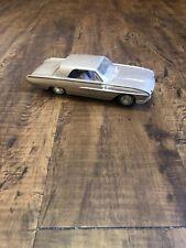 Vintage Beige Ford Thunderbird 1965 Toy Car Model