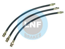 CHEVY PICKUP TRUCK 1-ton HE KE AN BRAKE HOSE FRONT REAR 38 39 40 41 42 1938-1942