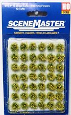 "Ho Scale Walthers SceneMaster 949-1113 Blooming Flowers 1/4"" 0.6cm (42) pcs"