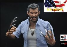 1/6 Angry Wolverine figure FULL Set Logan hot toys Burning Soul ❶USA IN STOCK❶