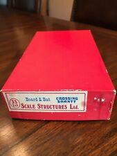 SCALE STRUCTURES LTD  HO metal Kit #11511 Board & Bat