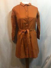 New listing Vintage Dress 60s Mod Scooter Mini Nos Tunic Shirt Day GoGo w Belt