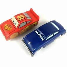 New DISNEY PIXAR CARS 2 WOOD Lightning McQueen Sally Figure Boy cute toy gift