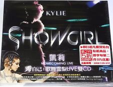 KYLIE Minogue SHOWGIRL HOMECOMING LIVE 2 CD Taiwan Slipcase Edition (2007) #951