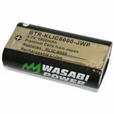 Wasabi Power Battery for Kodak KLIC-8000, KLIC8000