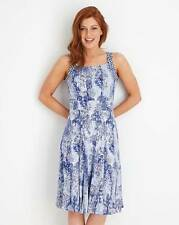 Joe Browns The Cool and Calming Dress Blue Size UK 18 Dh088 UU 05