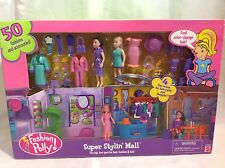 POLLY POCKET-FASHION POLLY SUPER STYLIN' MALL.YEAR 2001.NEW IN BOX..VERY RARE!!!