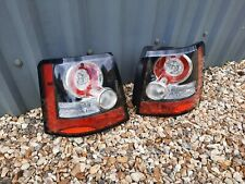 RANGE ROVER SPORT L320 REAR LED TAIL BRAKE LIGHT PAIR GENUINE FACELIFT 2010-13