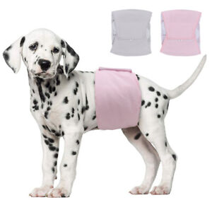 Soft Cotton Pet Dog Wrap Physiological Pants Band Diapers Belly Nappys Sanitary
