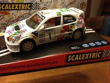 Toyota Corolla WRC Fujimoto Tein Malaysia '98 Scalextric 6034 SLOT Ninco Carrera