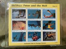 Disney Peter and the Wolf - The Capture Collectible Stamps