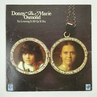 Donny & Marie Osmond Vinyl LP I'm Leaving It All Up To You