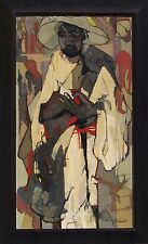 Jean Faber Limbert (French, 20 Century) Modernist Abstract Mid Century Signed