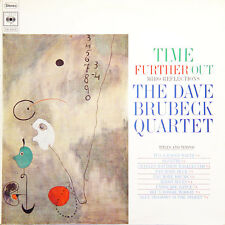 THE DAVE BRUBECK QUARTET Time Further Out FR Press CBS 62078 LP