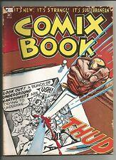 COMIX BOOK#1 Art Spiegelman WOLVERTON Howard Cruse TRINA T Richards Justin Green