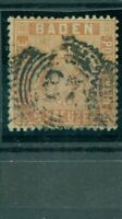 Baden, Wappen Nr.11 gestempelt