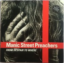 """Manic Street Preachers From Despair To Where Europe 12"""" 1993"""