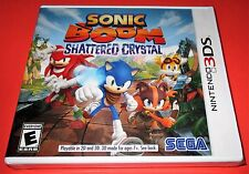 Sonic Boom: Shattered Crystal Nintendo 3DS *Factory Sealed! *Free Shipping!