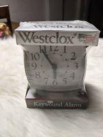 Vintage Westclox Portable Travel Alarm Clock