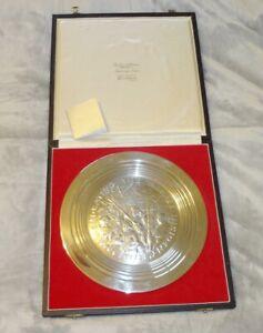 STUART DEVLIN Gaspee Incident Americana Sterling Silver Plate 11/1000 LTD ED
