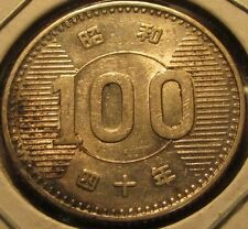 1965 Japanese 100 Yen 60% Silver Coin - Japan